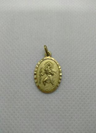 Винтажный медальон из великобритании