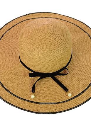 Шляпа широкополая 56-58