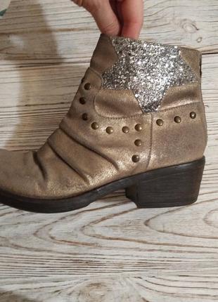 Кожаные ботинки meline