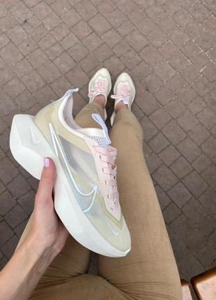Nike vista lite женские кроссовки найк в бежевом цвете (36-40)