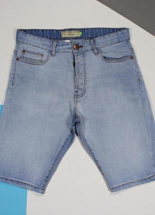 Классные джинсовые шорты в приятном цвете от next