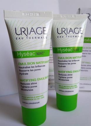 Uriage  крем-гель для лица с матирующим эффектом