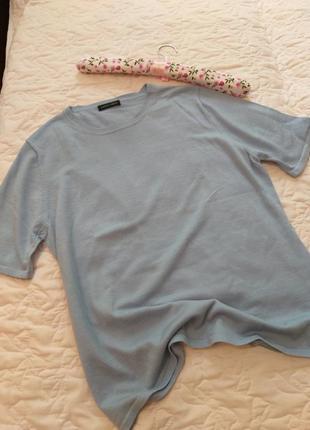 Джемпер с коротким рукавом шерсть мериноса
