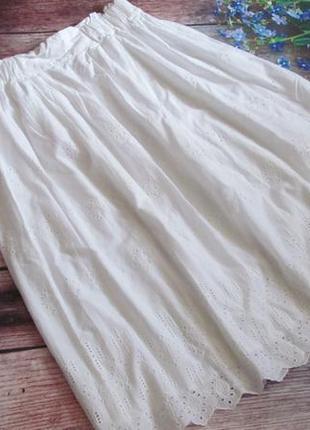 Бесподобная котоновая юбка-шитье.( а также брюки, платья, туники , лосины на пышные формы)