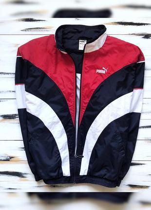 Puma винтажная куртка мастерка