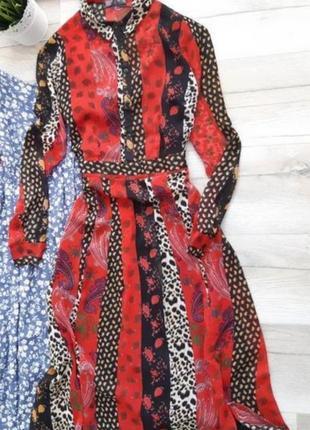 Шифоновое платье 10