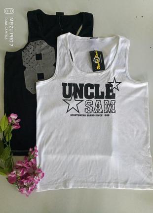 Спортивная майка футболка от бренда uncle sam, 2xl