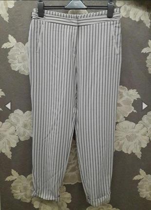 Актуальные прямые брюки в полоску  от gerard darel🎩