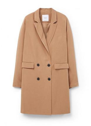 Струящийся плащ/летнее пальто/удлиненный пиджак mango