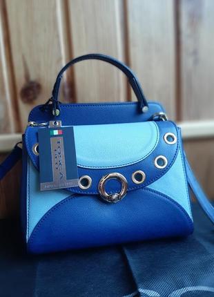 Новая сумка tosca blu оригинал кожа кожаная брендовая синяя голубая фирменная
