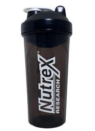 Nutrex research спортивный шейкер для коктейлей. сша. 700 мл