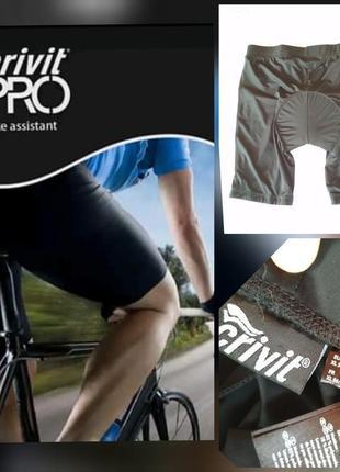 Фирменные настоящие велосипедки вело шорты с памперсом светоотражаючими елементами !!!