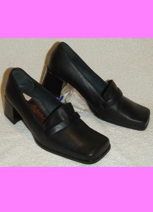 Белорусские кожаные туфли marko, размер 36 (по стельке 23 см)
