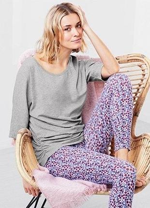 Комплект домашний пижама лосины и футболка размер 46-54 наш tchibo tcm