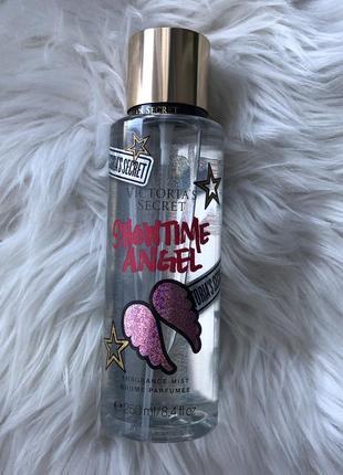 Новый парфюмированный спрей для тела showtime angel от victoria's secret 250ml