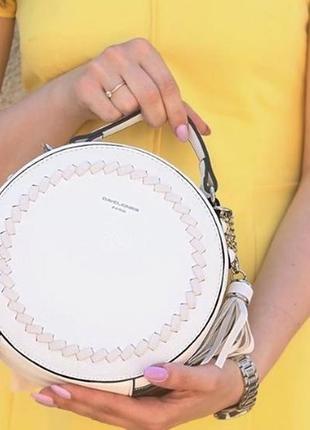 Женская круглая сумка david jones дэвид джонс кросс-боди
