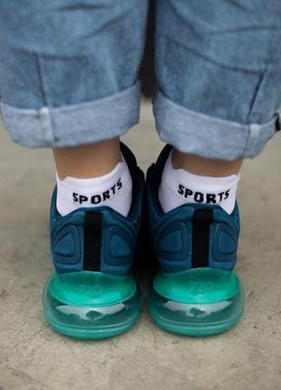 Шикарные кроссовки унисекс nike air max 7204 фото