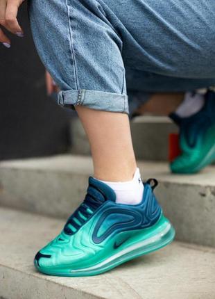 Шикарные кроссовки унисекс nike air max 720