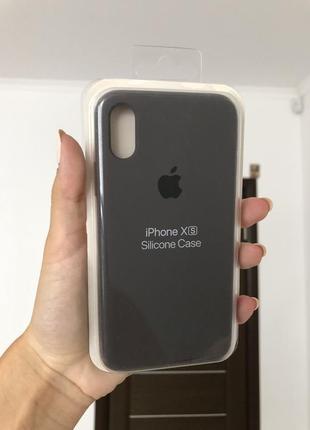 Silicon case чехол на айфон 10,x,xs