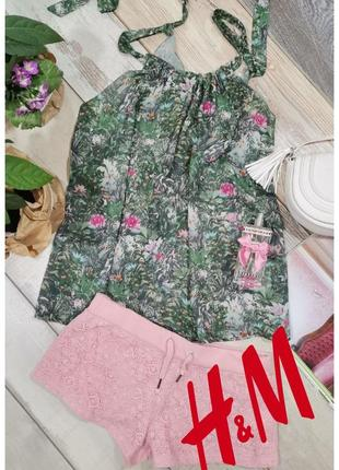 H&m топ / блуза