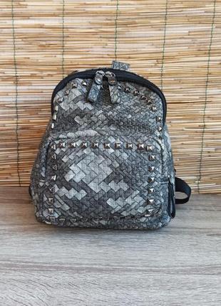 Стильний маленький рюкзак. женский маленький рюкзак