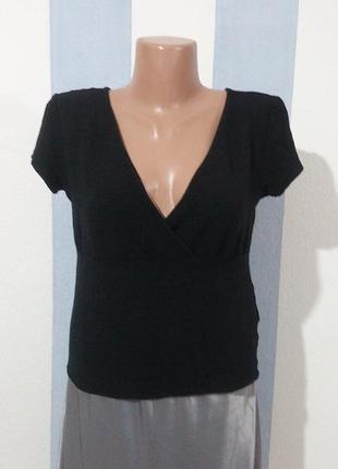 Елстична блуза на запах