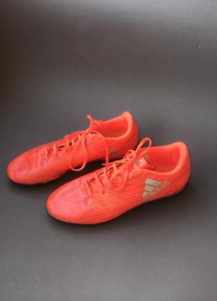 Adidas бутсы x 16.4 tf j
