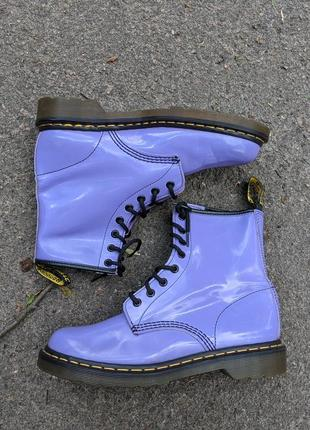 Кожаные ботинки dr martens 1460w оригинал