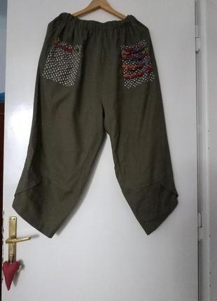 Летние легкие штаны, брюки багги/легкі літні штани