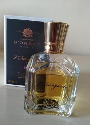 D'orsay l'intrigante нишевый аромат,100 мл, оригинал,франция!