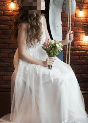 Свадебное, нарядное, праздничное платье