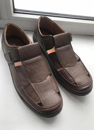 Туфли мужские cotton traders новые 44р 28 см