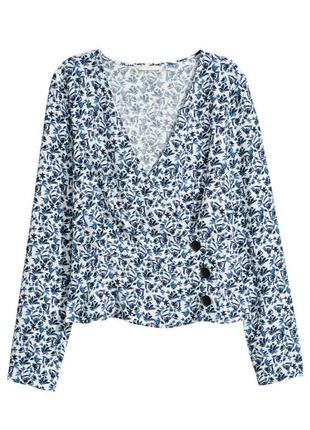 Блуза h&m белая