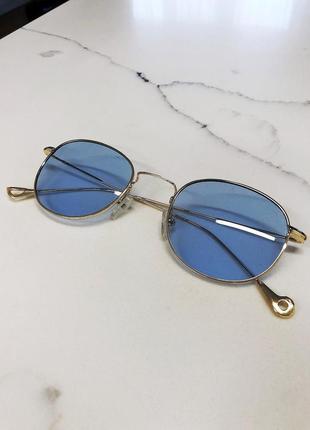 Летние, голубые очки высокого качества🥰💙