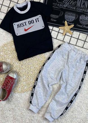 Детский спортивный костюм, футболка и шорты