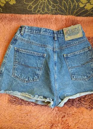 Шорти мом висока посадка джинс