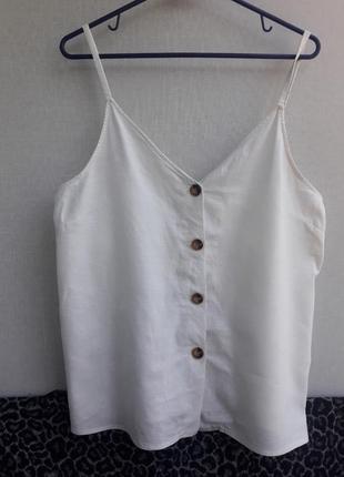 Майка блуза лён/вискоза