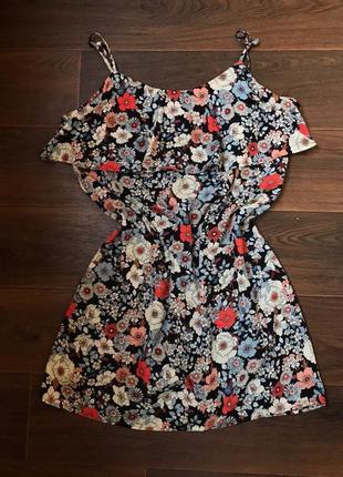 Летнее платье | женский легкий сарафан цветочный george
