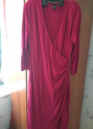 Новое платье миди tu