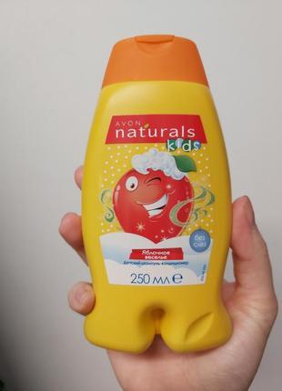 """Детский шампунь- кондиционер """"яблочное веселье"""" avon naturals kids"""