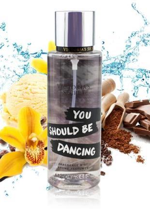 Парфюмированный мист спрей для тела you should be dancing от victoria's secret