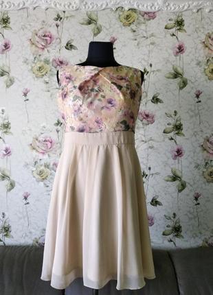 Платье нарядное, красивое. 48-50р