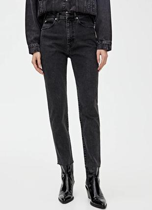 Джинси slim mom comfort pull&bear