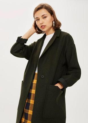 Шерстяное пальто topshop zara mango zara