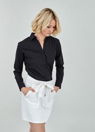 Красива чорна сорочка , рубашка orsay