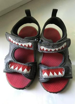 Босоножки сандали с мигалками светящиеся