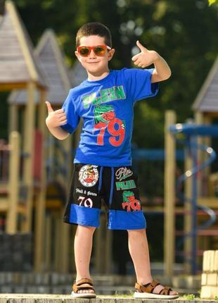 Летний костюм для мальчика