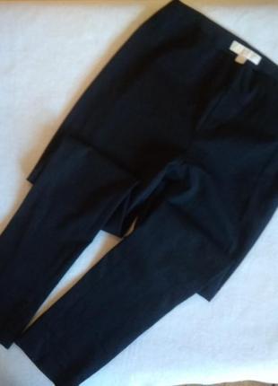 Стрейчевые котоновые , базовые брюки от michael kors