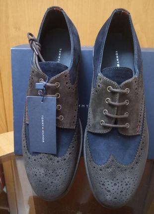 Эксклюзивные туфли бренда tommy hilfiger