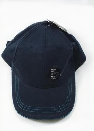 Синя коттонова кепка чоловіча хлопковая бейсболка мужская